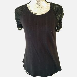 Jennifer Lopez scoop neck top XS